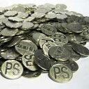 パチスロ 実機|メダル500枚 サイズ25φ|統一柄/洗浄済みコイン【中古】