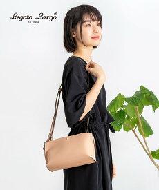ショルダーバッグ レディース 斜めがけ 大人 レガートラルゴ かるいかばん おしゃれ かわいい 軽い 韓国 可愛い カジュアル 黒 トラベル 小さい 白 合皮 軽量