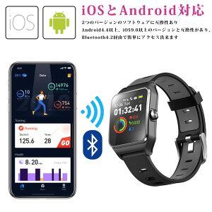 スマートウォッチ国内正規品日本正規品iPhoneAndroid日本語対応日本語説明書スポーツランニングGPSLine通知歩数計心拍数防水メンズレディース時計腕時計ウェアラブル端末2019おしゃれP1C