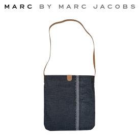 【割引クーポン配布中】 MARC BY MARC JACOBS マーク バイ マークジェイコブス デニム地 ショルダーバッグ バック カバン 鞄