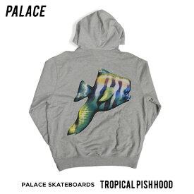 【割引クーポン配布中】 PALACE SKATEBOARDS / パレス スケートボード TROPICAL PISH HOOD プルオーバー パーカー スウェット フリース メンズ ストリート スケート 【RCP】