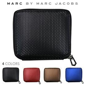 【割引クーポン配布中】 MARC BY MARC JACOBS マーク バイ マークジェイコブス Cube Zip Wallet 財布 ジップウォレット