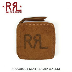 ba4a0e51510a RRL ダブルアールエル by Ralph Lauren ラルフローレン ROUGHOUT LEATHER ZIP WALLET レザー ジップ  ウォレット