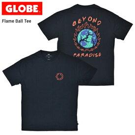 【割引クーポン配布中】 GLOBE グローブ FLAME BALL TEE Tシャツ 半袖 カットソー メンズ クルーネックTシャツ ティーシャツ ストリート スケート 【単品購入の場合はネコポス便発送】