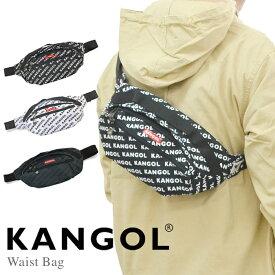 【割引クーポン配布中】 KANGOL カンゴール ウエストバッグ ショルダーバッグ ボディバッグ 鞄 WAIST BAG メンズ レディース ユニセックス KGSA-BG00042 【ネコポス便発送で送料無料】