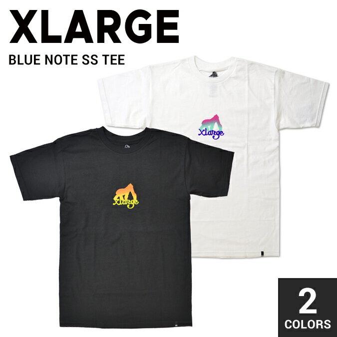 【クーポン利用で最大1,000円OFF】 XLARGE エクストララージ BLUE NOTE S/S TEE Tシャツ 半袖 メンズ クルーネックTシャツ ティーシャツ ストリート スケート 【単品購入の場合はネコポス便発送】