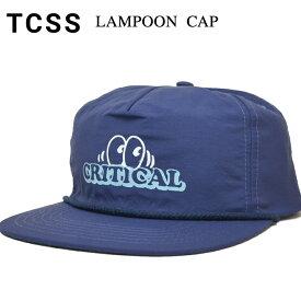 【割引クーポン配布中】 TCSS ティーシーエスエス LAMPOON CAP キャップ SNAPBACK CAP 帽子 スナップバックキャップ 5-PANEL 5パネルキャップ サーフブランド メンズ レディース ユニセックス HW1888