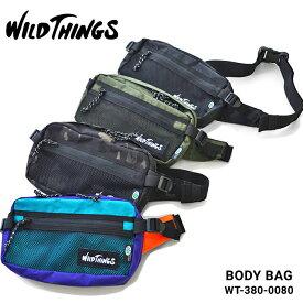 【割引クーポン配布中】 WILD THINGS ワイルドシングス ボディバッグ X-PAC BODY BAG ウエストバッグ ショルダーバッグ 鞄 メンズ レディース ユニセックス カジュアル アウトドア WT-380-0080