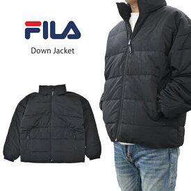 【割引クーポン配布中】 FILA HERITAGE フィラ ヘリテージ ジャケット DOWN JACKET ダウンジャケット 中綿ジャケット メンズ M-XL ブラック FM9693