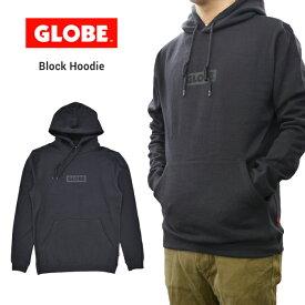 【割引クーポン配布中】 グローブ パーカー GLOBE BLOCK HOODIE 長袖 プルオーバー スウェット フリース メンズ S-XL ブラック GB01833006