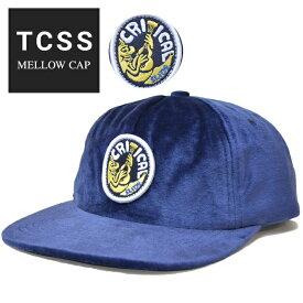 【割引クーポン配布中】 TCSS ティーシーエスエス キャップ MELLOW CAP 帽子 スナップバックキャップ 5-PANEL 5パネルキャップ ブルー HW1891