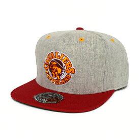 【割引クーポン配布中】 Mitchell & Ness(ミッチェル&ネス) キャップ 帽子 Melange Flannel High crown Fitted Hat Cap Cavaliers NBA 【532P19Mar16】【RCP】