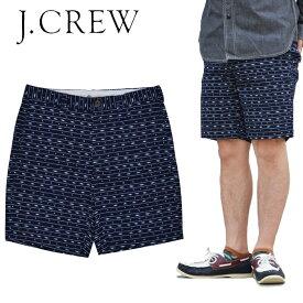 【割引クーポン配布中】 J.CREW ジェイクルー PRINTED GRAMERCY Short ショートパンツ ショーツ メンズ 総柄デザイン 【在庫一掃】