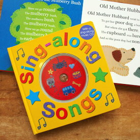 イギリス Priddy Books社 CD付き ソングブック 【絵本 童謡 子守唄 CD こもりうた マザーグース 1歳】