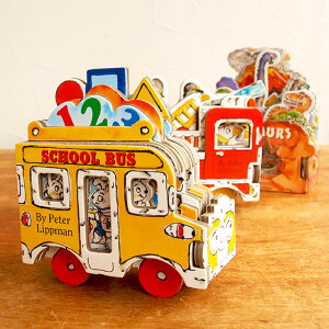 絵本 英語 海外 3歳 しかけ絵本 子供 かわいい 男の子 女の子 恐竜 乗り物 消防車 バス 出産祝い 誕生日 外国の絵本 アメリカ Workman出版 ストーリー絵本