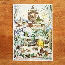 ドイツ R.Sellmer Verlag社 クリスマス アドベントカレンダー S クリスマスの朝 【メール便対象品】