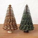 クリスマス ツリー オブジェ 置物 インテリアドイツ製 木製 コニファー クリスマスツリー 11cm
