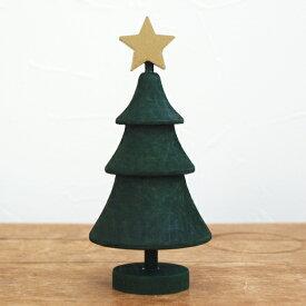 クリスマス ツリー オブジェ オーナメント 北欧 木製 置物 飾り スウェーデン Larssons Tra ラッセントレー スウェーデンツリー スター グリーン