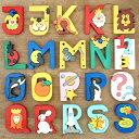 アルファベット オブジェ 木製 パズル 出産祝い 誕生日 かわいい おしゃれ 置物 ハンガリー FAUNA ファウナ 木製パズル J〜S【メール便…