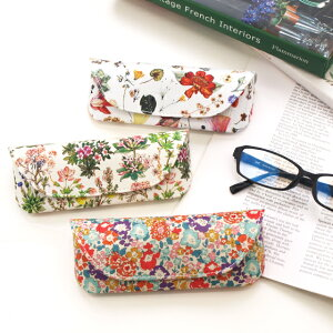 メガネケース リバティ かわいい おしゃれ 母の日 floret London フローレットロンドン リバティ生地使用 眼鏡ケース