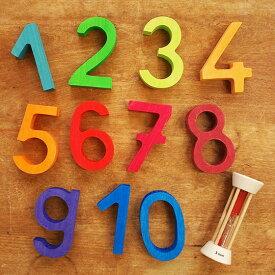 バランスゲーム おもちゃ 木製 積み木 シュタイナー ゲーム 知育玩具 子供 かわいい 木のおもちゃ オブジェ 置物 インテリア 誕生日 ドイツ GRIMM'S グリムス ビルディングセット ナンバー
