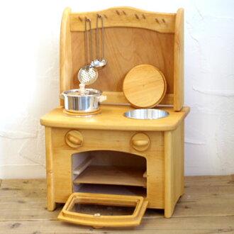 Gluckskafe glucscapher 玩具廚房烤箱、 洗滌槽