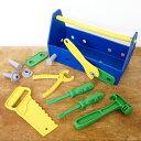 大工さん おもちゃ ごっこ遊び 工具セット 男の子 誕生日 かわいい アメリカ Green toys グリーントイズ ツールセット ブルー