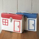 ペーパートランク ボックス 書類バッグ ブリーフケース ハウス型チェコ Kazeto カゼト