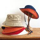 【SALE】ハット キッズ UVカット 帽子 サファリハット 2WAY アウトドア 子供用 女の子 男の子 アメリカ DORFMAN ドルフマン 子供用 コ…