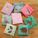 松尾ミユキ エコバッグ エコバッグ 折りたたみ コンパクト アニマル おしゃれ レジ袋 ショッピングバッグ エコ バッグ 保育園 かわいい…