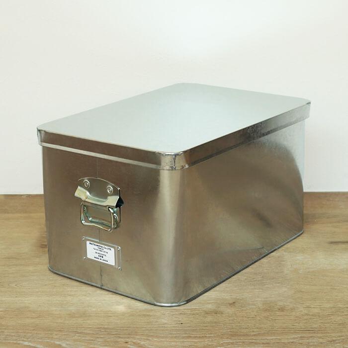 日本製 松野屋 トタン 米びつ 15kg 収納 キッチン ケース ツールボックス