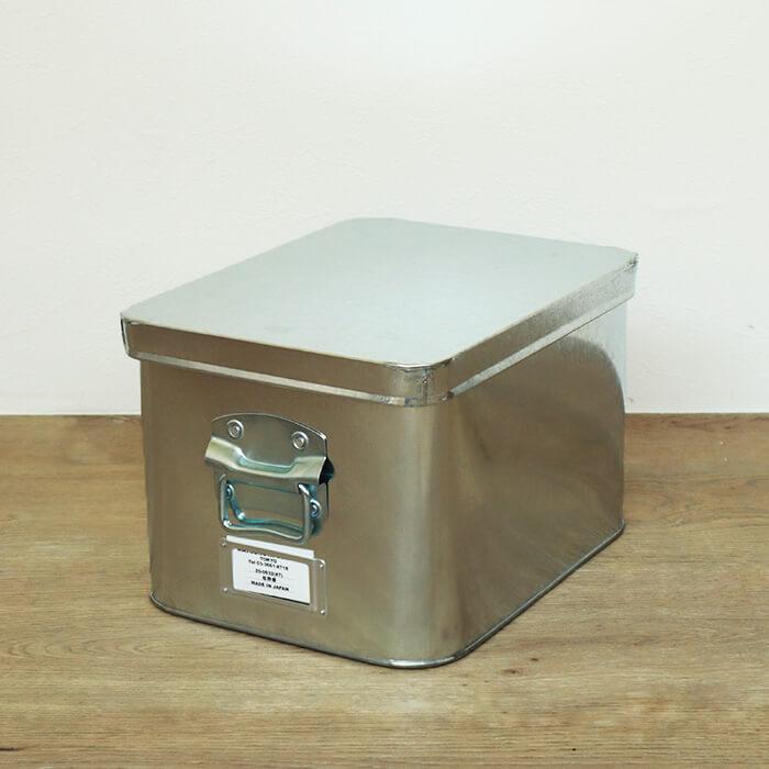 日本製 松野屋 トタン 米びつ 7kg 収納 キッチン ケース ツールボックス