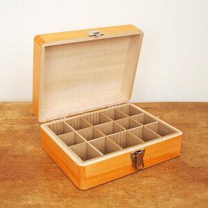松野屋 日本製 木製 印箱 大 【裁縫箱 おしゃれ ソーイングボックス かわいい 救急箱 化粧箱 収納 印鑑 お道具箱】
