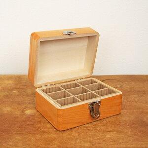 松野屋 日本製 木製 印箱 小 【裁縫箱 おしゃれ ソーイングボックス かわいい 救急箱 化粧箱 収納 印鑑 お道具箱】