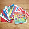 Made in Germany Mapa Janssen's origami-stripes & dots double-sided color S 100