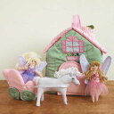 布おもちゃ ドールハウス 女の子 出産祝い 誕生日 かわいいスウェーデン Oskar&ellen オスカー&エレン フェアリーコテージ
