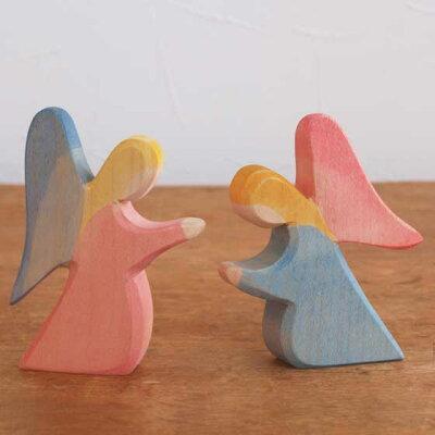 Ostheimer オストハイマー 木製 フィギュア ひざまずく天使 オブジェ クリスマス 飾り おしゃれ おもちゃ 人形遊び シュタイナー 【メール便対象品】 ROOM - 欲しい! に出会える。