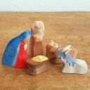 Ostheimer オストハイマー 木製 フィギュア 降誕セット クリスマス オブジェ インテリア おしゃれ 雑貨 おもちゃ 人形遊び かわいい シ…