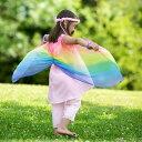 アメリカ Sarah'ssilks サラズシルク フェアリードレス 【布 おもちゃ 女の子 お姫様 ドレス ワンピース 子供 仮装 誕生日 ハロウィン …
