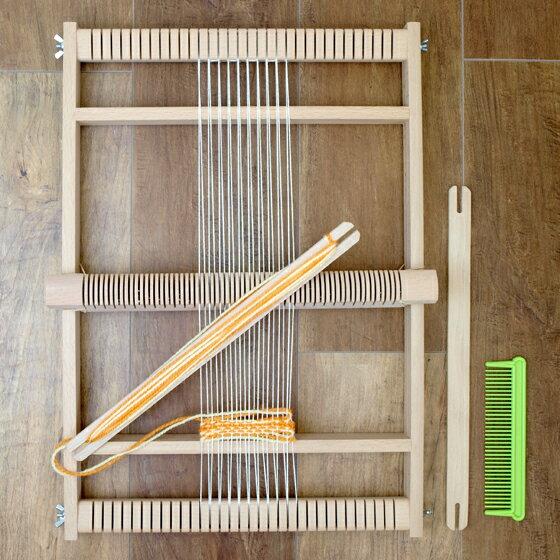 手織り機 ヘルムート ミューラー 織り機 大 ドイツ製