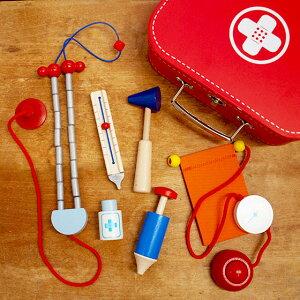 お医者さんごっこ ごっこ遊び おもちゃ 診察セット 女の子 男の子 誕生日 出産祝い 木製玩具 木のおもちゃ ドイツ Selecta セレクタ お医者さんセット