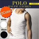 Ralph Lauren【全2色★PONYのワンポイント刺繍】タンクトップ【ホワイト/ブラック 白黒】新品 ラルフローレン メンズ …
