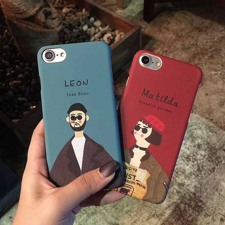 【 送料無料 / メール便 】 iPhoneX iPhone8 iPhone7 6s 6 Plus SE 5s ケース LEON おしゃれ かわいい 人気 カップル おそろい ペア iPhone ケース アイホン アイフォン アイフォン ケース iPhoneケース スマホケース スマートフォン カバー 未発売 特典 即納