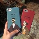 【 送料無料 /DM便】 iPhone7 6s 6 Plus 5s SE ケース カバー LEON おしゃれ かわいい 人気 カップル おそろい 彼氏 …