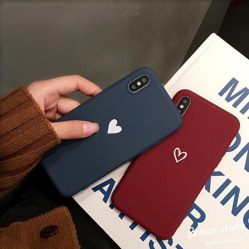 【 送料無料 / メール便 】 iPhoneXS Max iPhoneXR iPhone8 iPhone7 ケース ハート かわいい シンプル ペア カップル おそろい LOVE iPhone ケース アイホン アイフォン アイフォン ケース iPhoneケース スマホケース スマートフォン カバー 未発売 特典 即納