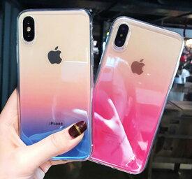 【 送料無料 / メール便 】 iPhoneXS Max iPhoneX iPhone8 iPhone7 iPhone6s iPhone6 ケース カバー グラデーション クリア 透明 人気 iPhone ケース アイホン アイフォン アイフォン ケース iPhoneケース スマホケース スマートフォン カバー 未発売 特典 即納