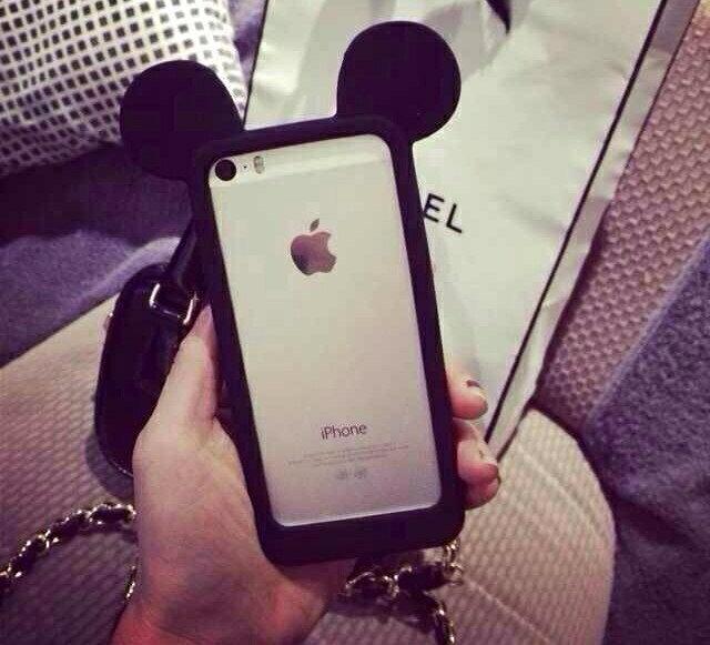 【 送料無料 / メール便 】 iPhone8 iPhone7 6s 6 Plus 5s 5 SE シリコン マウス キャラクター 耳 かわいい おしゃれ バンパー ケース iPhone ケース アイホン アイフォン アイフォン ケース iPhoneケース スマホケース スマートフォン カバー 未発売 特典 即納