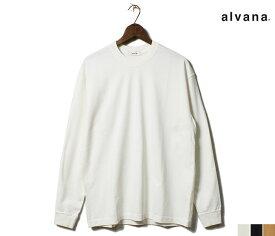 アルヴァナ alvana ロンT タンギス綿 クルーネック 長袖 Tシャツ TANGUIS L/S TEE T-SHIRTS 2019FW MADE IN JAPAN (ACS-0002)