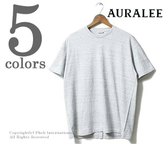 AURALEE made in Japan SEAMLESS CREW NECK TEE (A00T01ST-TEE)