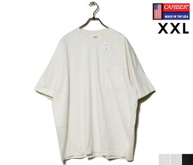 CAMBER キャンバー ポケT XXL ビッグサイズ ファイネスト ポケット Tシャツ 702 FINEST T-SHIRTS WITH POCKET BIG SIZE MADE IN USA (CAMBER-702-PK-FINEST-XXL)